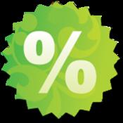App Icon: Discount Calculator (Deutsch)